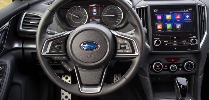 Autotest Subaru Impreza 2018 Driving-Dutchman dashboard