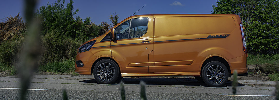 Rijtest Ford Transit Custom Sport 1