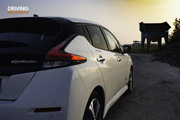 Rijtest Nissan leaf 1