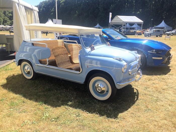Fiat Jolly Concours d'Elegance Driving-Dutchman