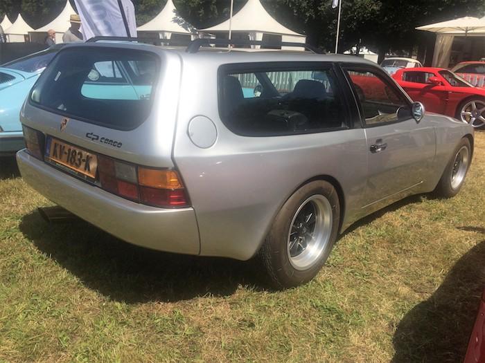 Porsche 924 DP Cargo Concours d'Elegance Driving-Dutchman